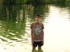 Мирошник Сергей на речке