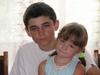 Мирошник Сергей с сестрой