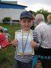 Северинов Саша с медалью